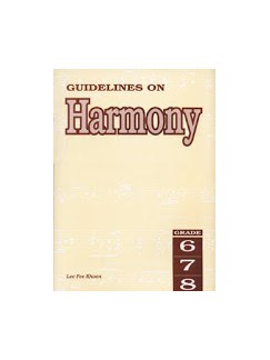 Guidelines On Harmony - Grades Six, Seven And Eight Books | All Instruments