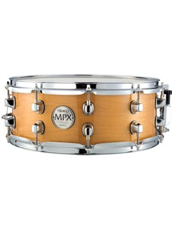Mapex: MPX 14x5.5 Inch Maple Snare - Natural Instruments | Drums
