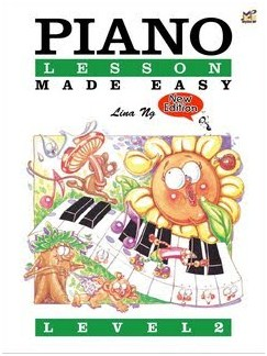 Lina Ng: Piano Lesson Made Easy Level 2 Books | Piano