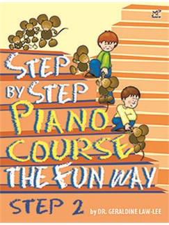Geraldine Law-Lee: Step By Step Piano Course The Fun Way - Step 2 Books | Piano