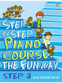 Geraldine Law-Lee: Step By Step Piano Course The Fun Way - Step 3 Books | Piano