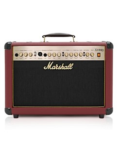 Marshall: AS50D Acoustic Amplifier - Limited Edition Oxblood Red  |