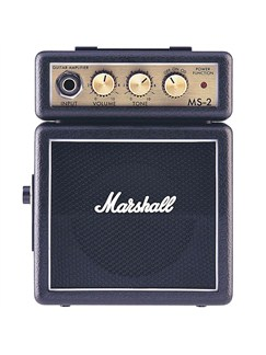 Marshall: MS-2 Portable Amplifier  | Electric Guitar