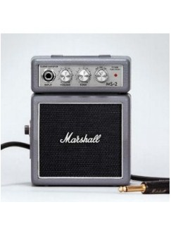 Marshall: MS2SJ Micro Portable Guitar Amplifier - Silver Jubilee  | Guitar