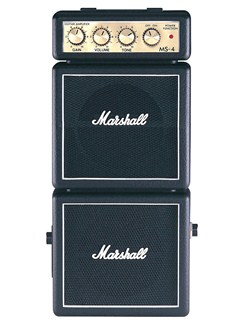 Marshall: MS-4 Portable Amplifier  | Electric Guitar