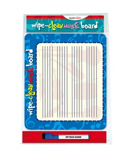 Musicroom: Wipe Clean Music Board And Pen  |