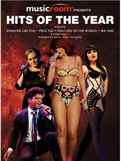 Musicroom Presents Hits Of The Year Livre | Piano, Chant et Guitare