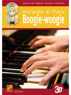 Pedro Montes: Iniciación Al Piano Boogie-Woogie En 3D (Libro/CD/DVD) Books, CDs and DVDs / Videos | Piano