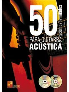 50 Acompañamientos Para La Guitarra Acústica (Book/CD/DVD) Books, CDs and DVDs / Videos | Guitar