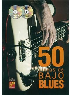 50 Líneas De Bajo Blues (Book/CD/DVD) Books, CDs and DVDs / Videos | Bass Guitar