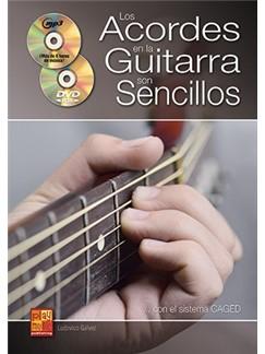 Ludovico Galvez: Los Acordes En La Guitarra Son Sencillos (Libro/CD/DVD) CD, DVDs / Videos y Libro | Guitarra