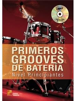 Esteban Tornero: Primeros Grooves De Bateria - Nivel Principiantes (Libro/CVD) CD y Libro | Batería