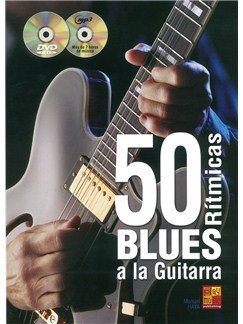 Manuel Haya: 50 Blues Ritmicas A La Guitarra (Book/CD/DVD) Books, CDs and DVDs / Videos | Guitarra