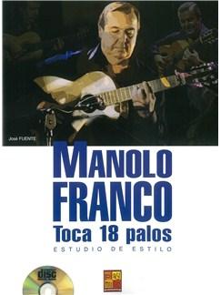 Manolo Franco: Estudio De Estilo (Book/CD) Books and CDs | Guitar