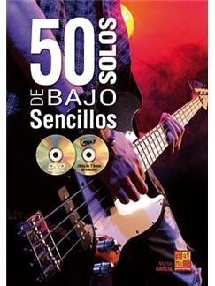 Martin Garcia: 50 Solos De Bajo Sencillos (Libro/CD/DVD) Books, CDs and DVDs / Videos | Bajo