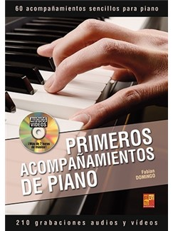 Fabian Domingo: Primeros Acompañamientos De Piano (Libro/DVD) Books and DVDs / Videos | Piano
