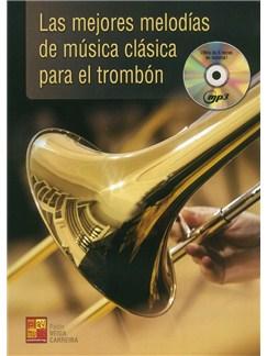 Pablo Veiga Carreira: Las Mejores Melodias De Musica Clásica Para El Trombón (Libro/CD) CD y Libro | Tombón