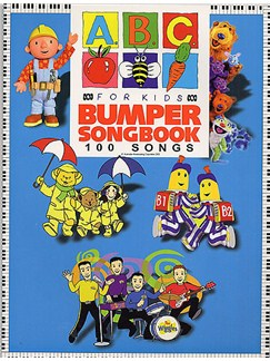 ABC For Kids Bumper Songbook: 100 Songs Books | Melody, Lyrics & Chord Boxes; Piano, Voice & Guitar Chord Symbols
