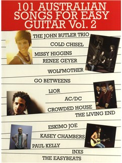 101 Australian Songs For Easy Guitar Volume 2 Books | Guitar (with Chord Boxes)