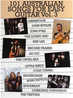 101 Australian Songs For Easy Guitar Volume 3 Bog | Klaver, sang og guitar, Melodilinie, tekst og becifring