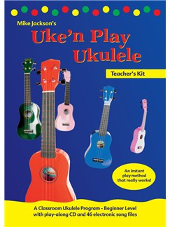 Mike Jackson Uke'n'Play Teacher's Kit Books  