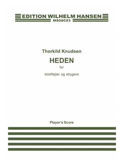 Thorkild Knudsen: Heden (Score) Books | Chamber Group, Recorder, String Instruments