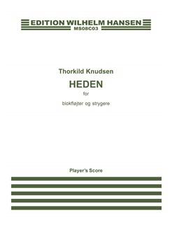 Thorkild Knudsen: Heden (Score) Bog | Kammerensemble, Blokfløjte, Strygerinstrumenter