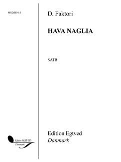D. Faktori: Hava Naglia Books | SATB