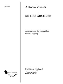 Antonio Vivaldi: De Fire Årstider Bog | SATB, Kor