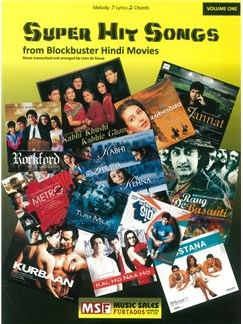 Super Hit Songs From Blockbuster Hindi Movies Books | Melody Line, Lyrics & Chords