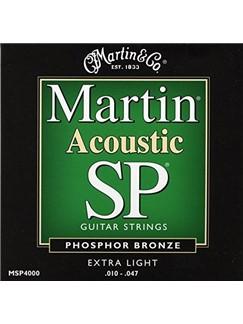 Martin: 92/8 Phosphor Bronze Acoustic Guitar Strings - Extra Light 10-47  | Guitar