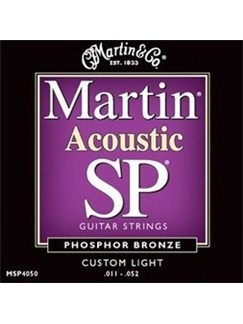 Martin: 92/8 Phosphor Bronze Acoustic Guitar Strings Custom Light 11-52  | Acoustic Guitar