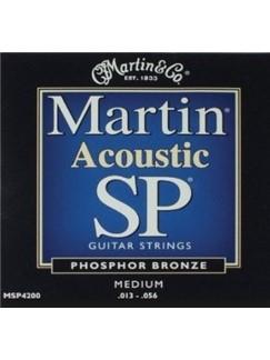 Martin: 92/8 Phosphor Bronze Acoustic Guitar Strings - Medium 13-56  | Guitar