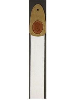 Levy's: MSSC8 Cotton Guitar Strap - White  | Guitar