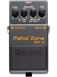 Boss: MT-2 Metal Zone Pedal  | Electric Guitar