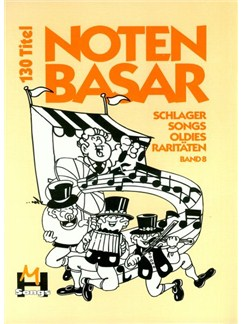 Notenbasar Band 8 (DIN A4) Books | Melody Line, Lyrics & Chords