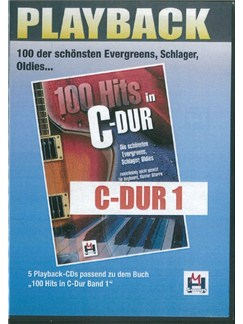 100 Hits In C-Dur Band 1 (5 Playback-CDs) CDs | Voice