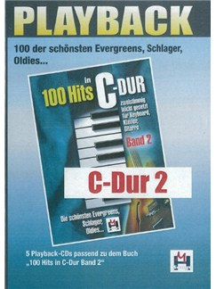 100 Hits In C-Dur Band 2 (5 Playback-CDs) CDs | Voice