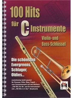 100 Hits Für C-Instrumente Books | Melody Line, Lyrics & Chords