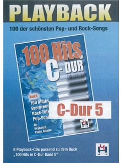 100 Instrumental Songs (5 Playback-CDs C-Stimme) CDs | Voice, C Instruments