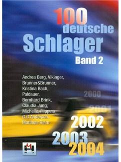 100 Deutsche Schlager Band 2 Books | Melody Line, Lyrics & Chords