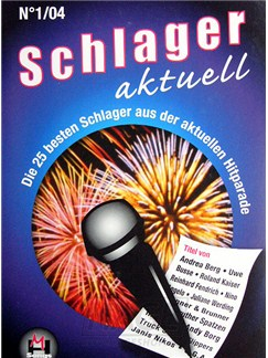 Schlager Aktuell Band 1 Books | Melody Line, Lyrics & Chords