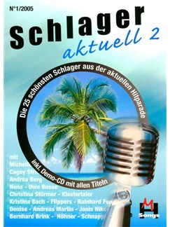 Schlager Aktuell Band 2 (Inkl. Kennenlern-CD) Books and CDs | Melody Line, Lyrics & Chords