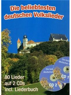 Die Beliebtesten Deutschen Volkslieder (A5 Mit CDs) Books and CDs | Melody Line, Lyrics & Chords