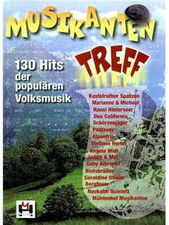 Musikantentreff Books | Melody Line, Lyrics & Chords