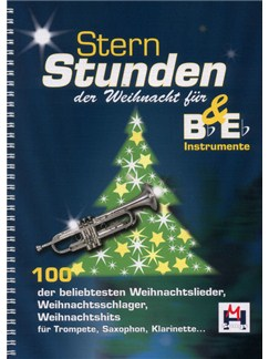 Sternstunden Der Weihnacht Für Bb&Eb Instrumente (4 Playback-CDs) CDs | B Flat Instruments, E Flat Instruments