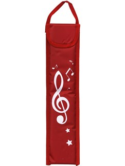 Musicwear: Recorder Bag - Red  | Soprano (Descant) Recorder