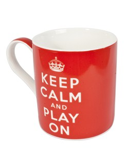 Keep Calm And Play On - 42cl / 14.5 oz. Coffee Mug  |