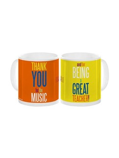 Teacher Thank You For The Music Mug  |