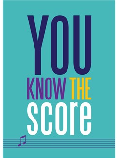 You Know The Score - Greeting Card  |